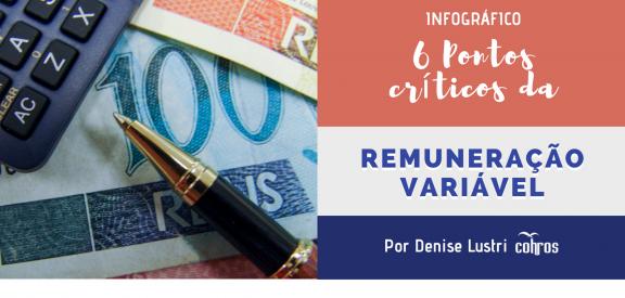 Infográfico - 6 Pontos Críticos da Remuneração Variável