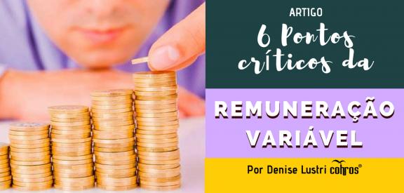 Como implantar Remuneração Variável - pontos críticos